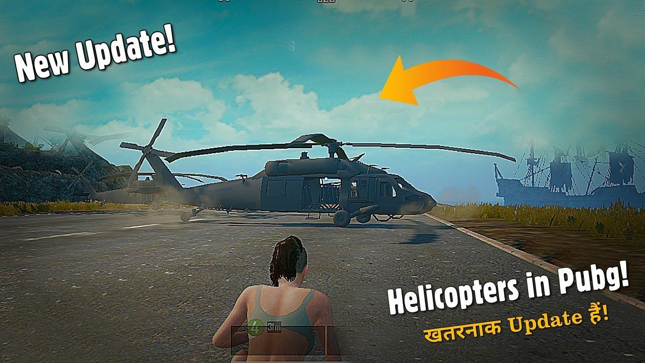 Pubg New Helicopter Update