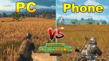 Pubg pc vs pubg mobile
