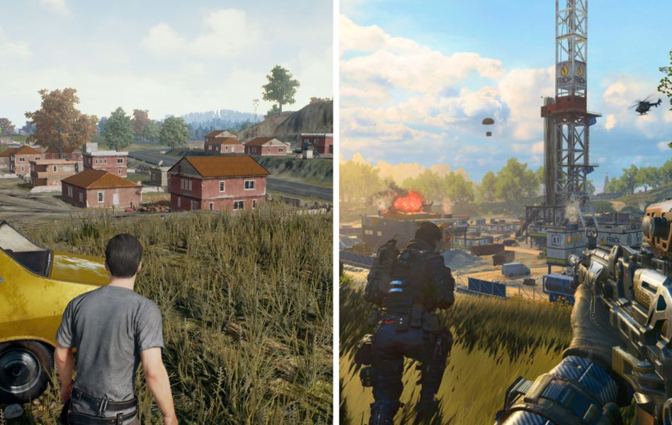 PUBG Vs Blackout Gameplay