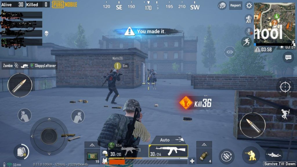 pubg mobile ping test