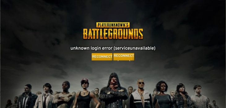 Solve PUBG Server Error Message
