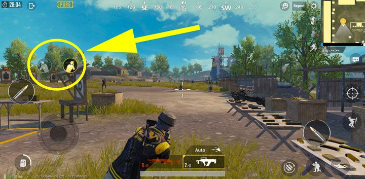 how to enable peek in pubg mobile emulator