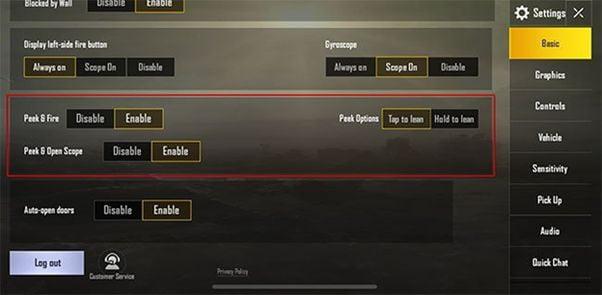 peek and fire pubg emulator