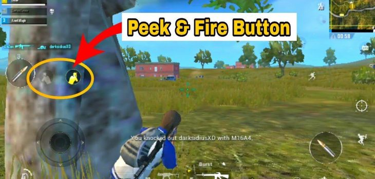 what is peek and fire pubg