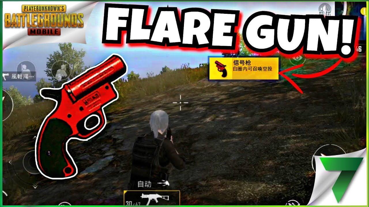 Pubg Flare Gun Not Working