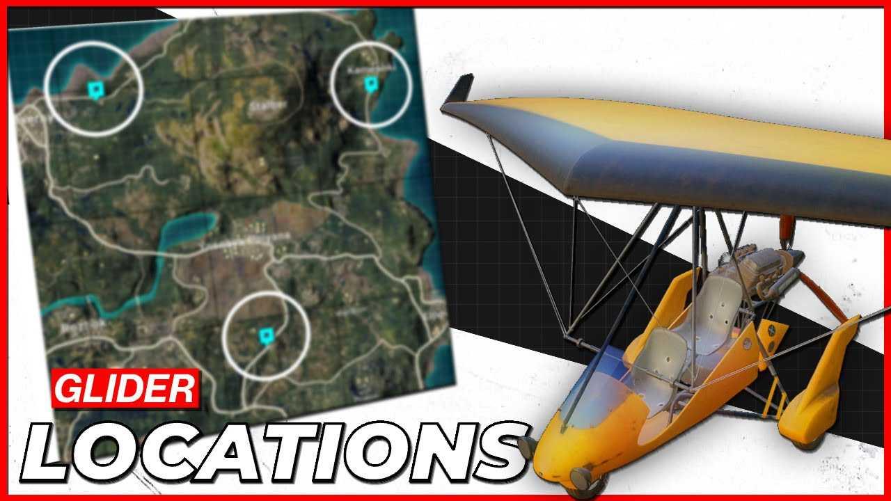 PUBG Motor Glider Location