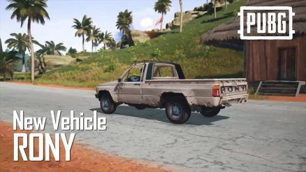 PUBG Rony Truck