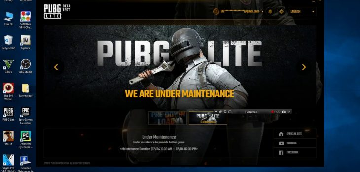 Pubg Maintenance Time