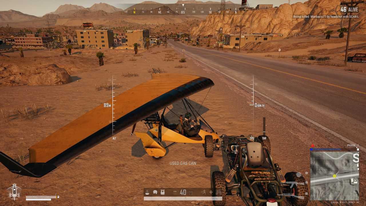 Pubg Motor Glider Controls
