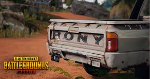 Rony Not Available in Erangel