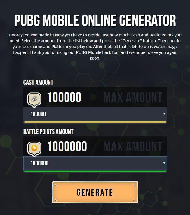 safe to use PUBG UC Generator
