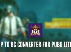 BP to BC Converter for PUBG Lite