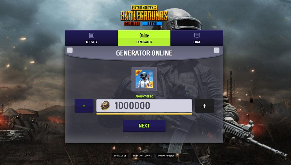 purchase BC from Pubg Mobile