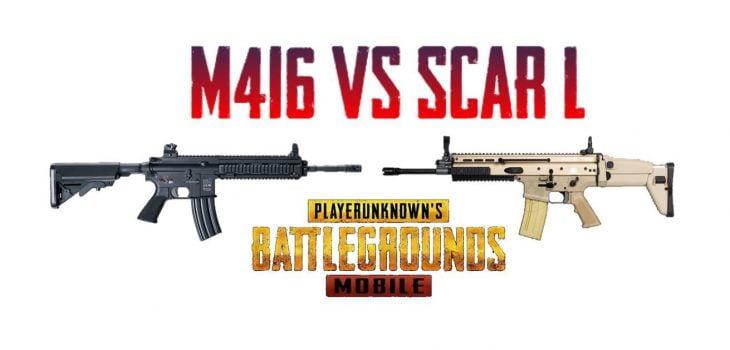 AG Scar L Vs M416