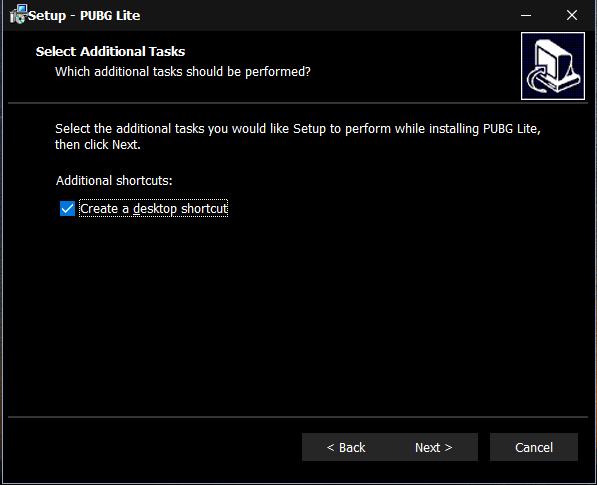 Create a desktop shortcut