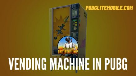 Vending Machine In PUBG