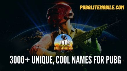 Best Name For Pubg