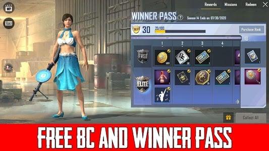 Free 280 BC in PUBG Lite