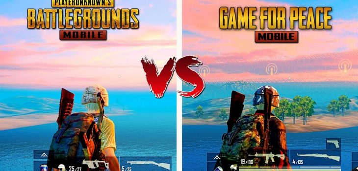 Game For Peace Vs PUBG