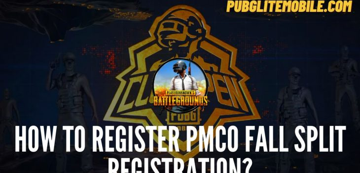 PMCO Registration 2021