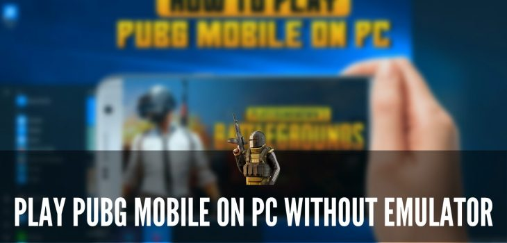 Play PUBG Mobile On PC Without Emulator