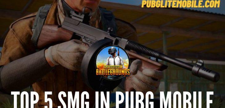 SMG In PUBG Mobile