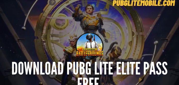 PUBG LITE Free Royal Pass
